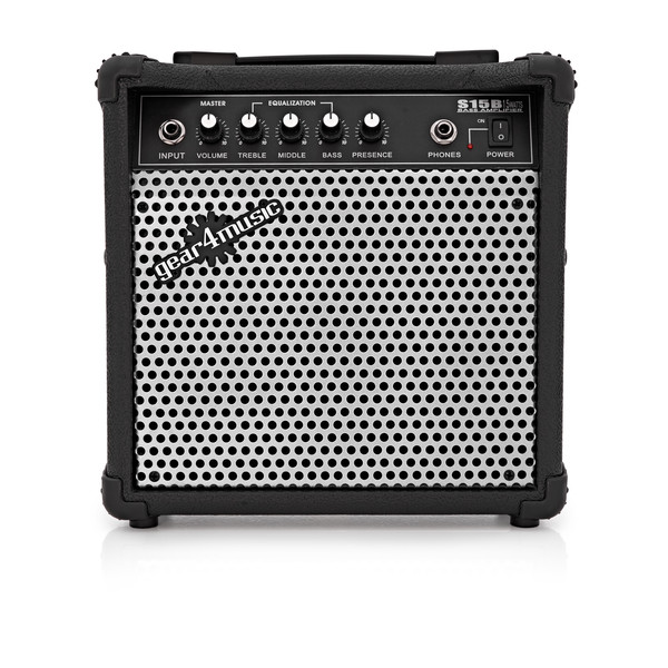15W Electric Bass Amp by Gear4music