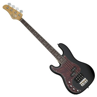 Schecter Diamond-P Plus Left Handed Bass Guitar, Gloss Black