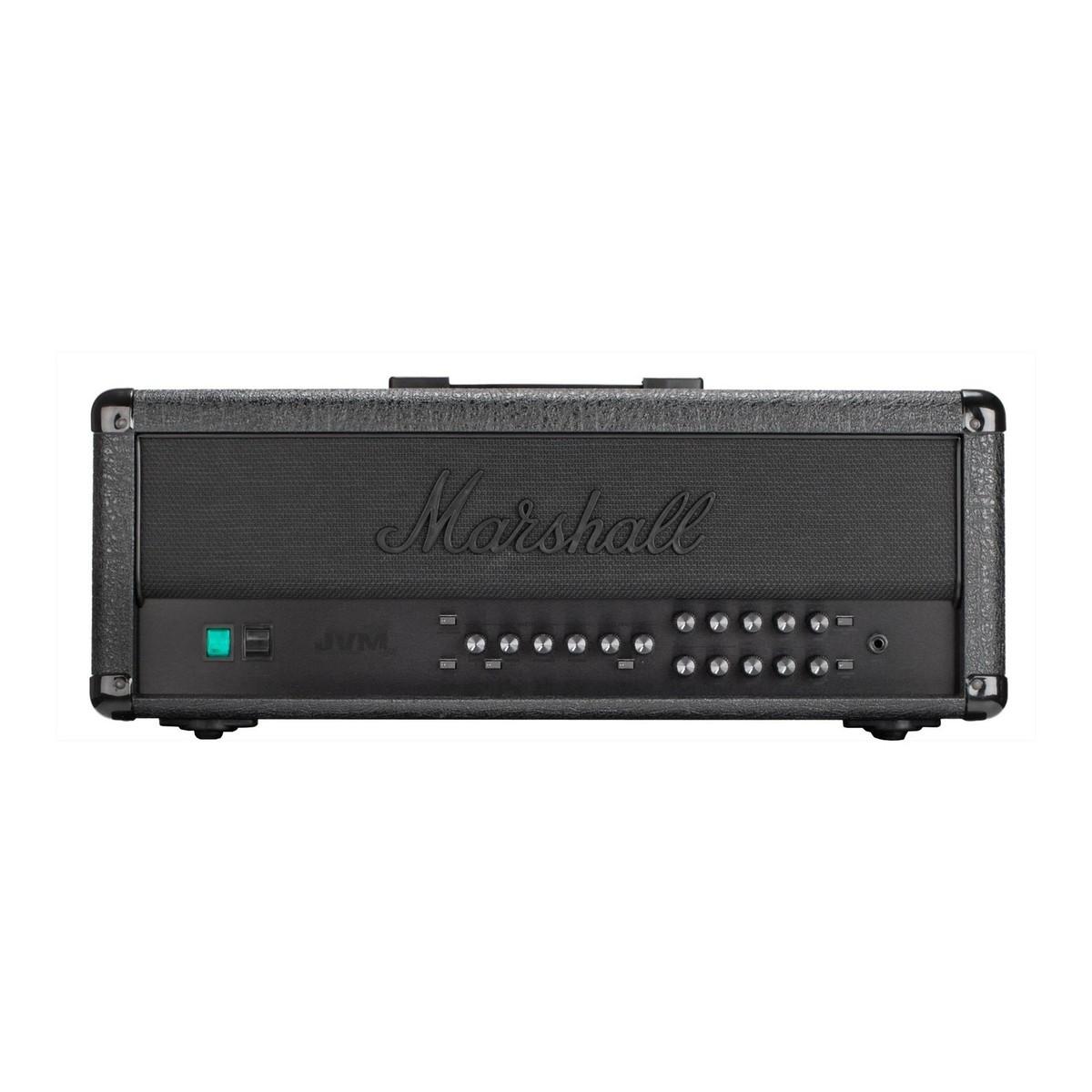 Marshall JVM205H 50W Valve Amp Head, Limited Edition Stealth - Box ...