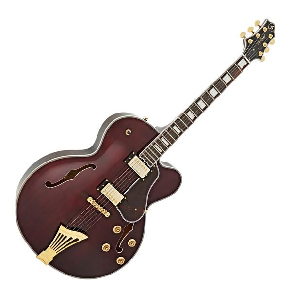 Greg Bennett Lasalle JZ-2 Electric Guitar, Wine Red