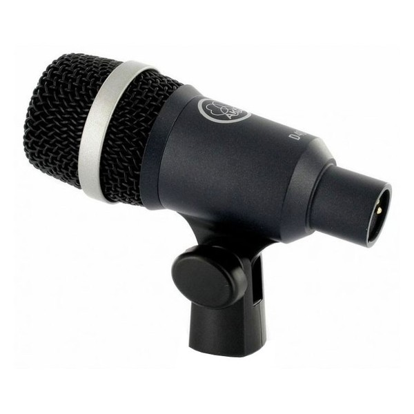AKG D40 Dynamic Instrument Microphone - Angled Rear