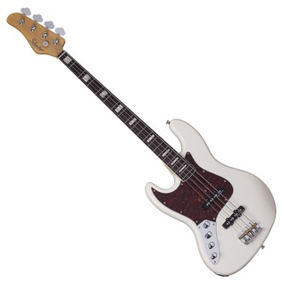 Schecter Diamond-J Plus Left Handed Bass Guitar, Ivory