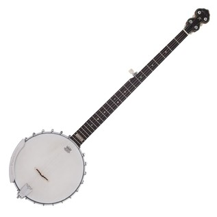 Pilgrim Morning Star Tonering, Long Neck Open Back Banjo with Case