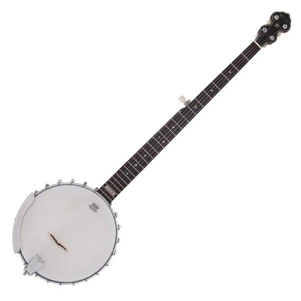 Pilgrim Morning Star Tonering, Long Neck Open Back Banjo with Case