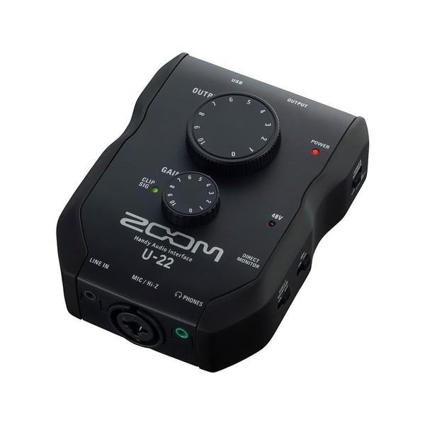 zoom u22 usb audio interface at gear4music. Black Bedroom Furniture Sets. Home Design Ideas