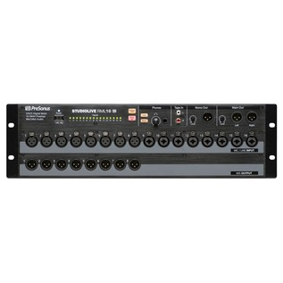 PreSonus StudioLive RML16AI Rack Mount Digital Mixer - Front