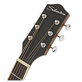 Silvertone 600 Acoustic Guitar, Vintage Natural