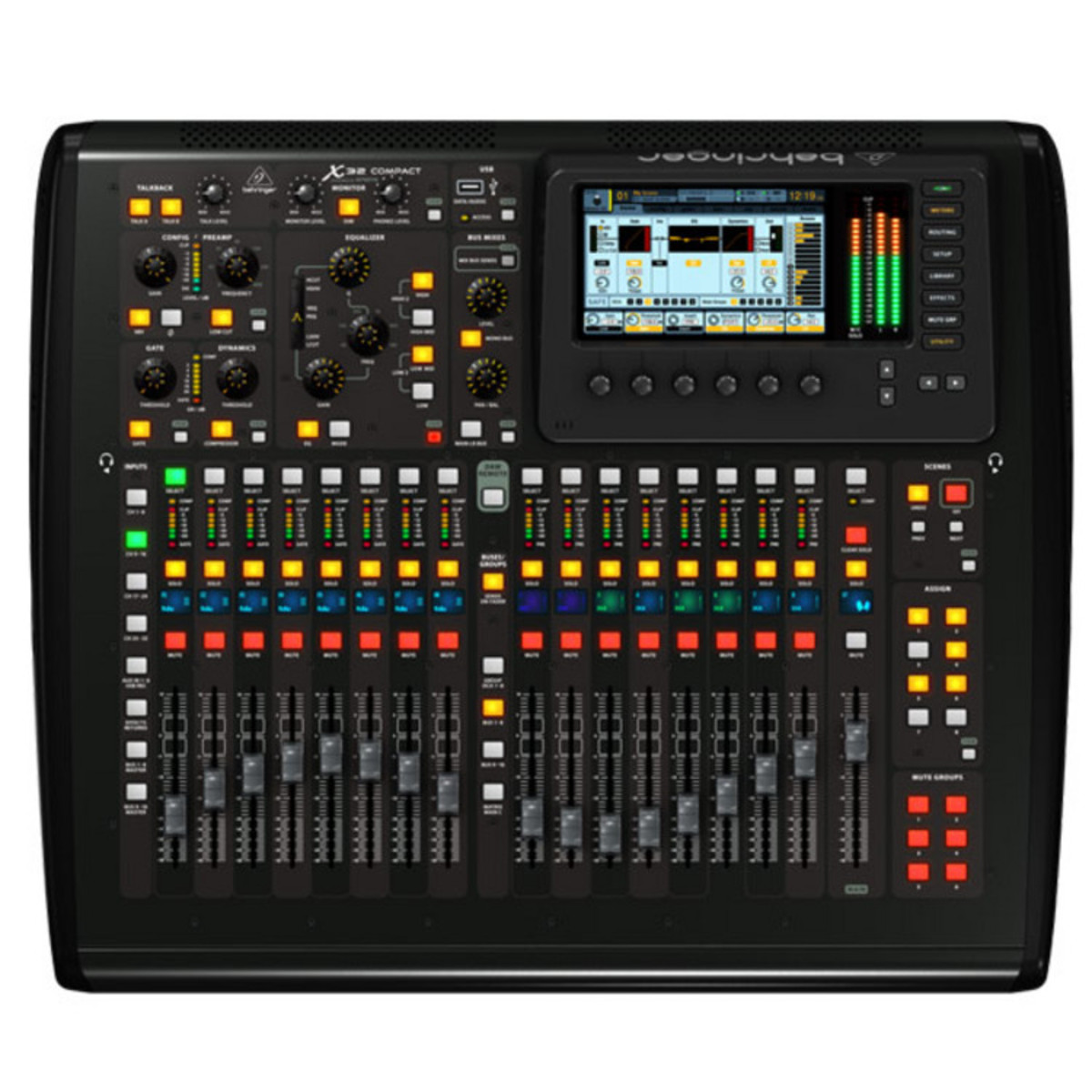 behringer x32 compact digital mixing console b stock at gear4music. Black Bedroom Furniture Sets. Home Design Ideas