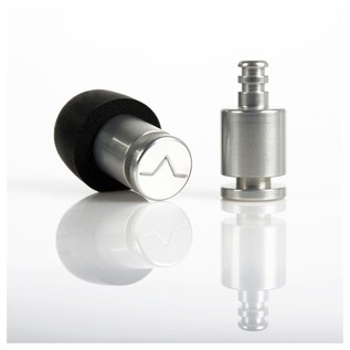 Flare Audio Isolate Pro Ear Protection Plugs, Titanium