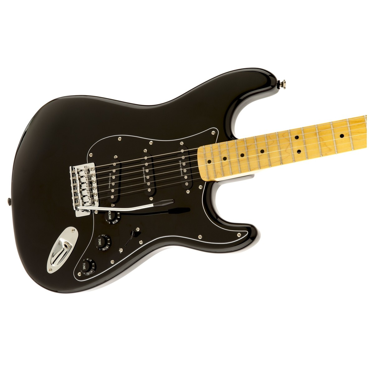 squier vintage modified 39 70s stratocaster black at gear4music. Black Bedroom Furniture Sets. Home Design Ideas