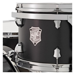 SJC Drums Tour Series Shell Pack, Black Stain