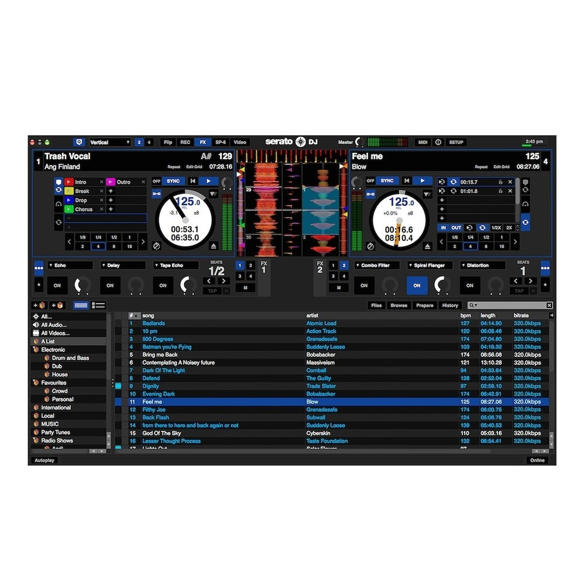 how to use serato dj intro without controller