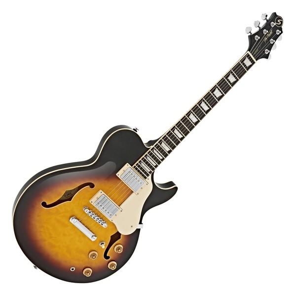 Greg Bennett Royale RL-3 Electric Guitar, Vintage Sunburst