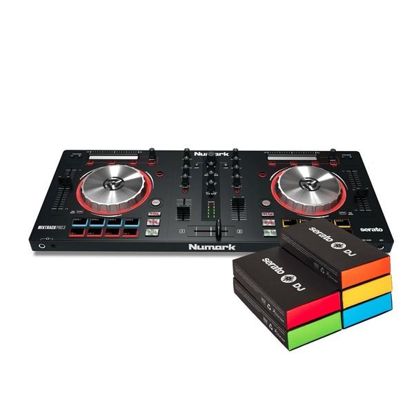 Numark Mixtrack Pro 3 with Upgrade to Serato DJ - Bundle
