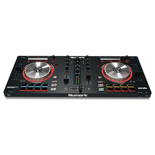 Numark Mixtrack Pro 3 with Upgrade to Serato DJ - Bottom