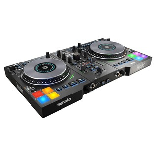 Hercules DJControl Jogvision with Upgrade to Serato DJ - Hercules DJControl Angled