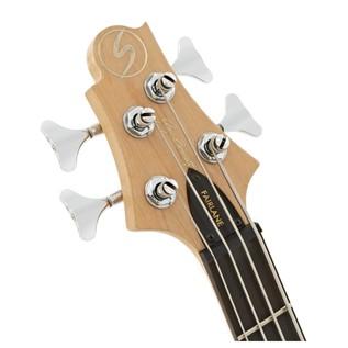 Greg Bennett Fairlane FN-1 Left Handed Bass Guitar, Black