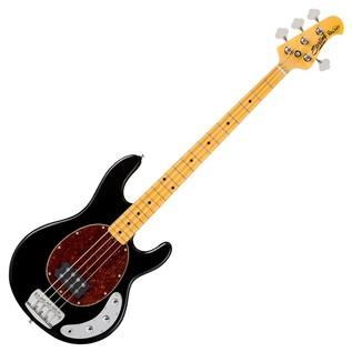 Sterling by Music Man Ray34 Classic Bass Guitar, Black