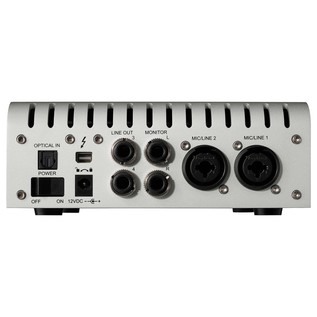 Universal Audio Apollo Twin Solo Thunderbolt Audio Interface - Rear