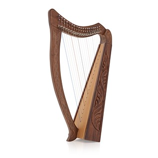 19 String Harp by Gear4music