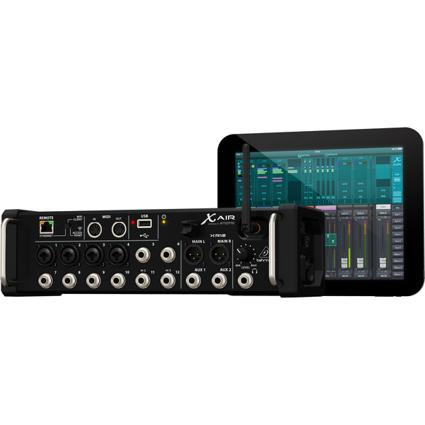Behringer X AIR XR12 12-Channel Digital Mixer - iPad/Android Tablets