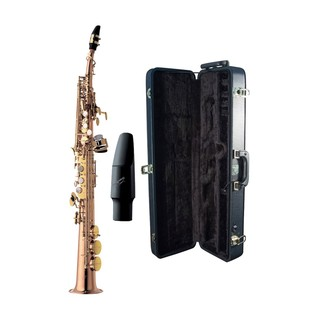 Yanagisawa S992U Soprano Saxophone, Unlacquered Bronze Body