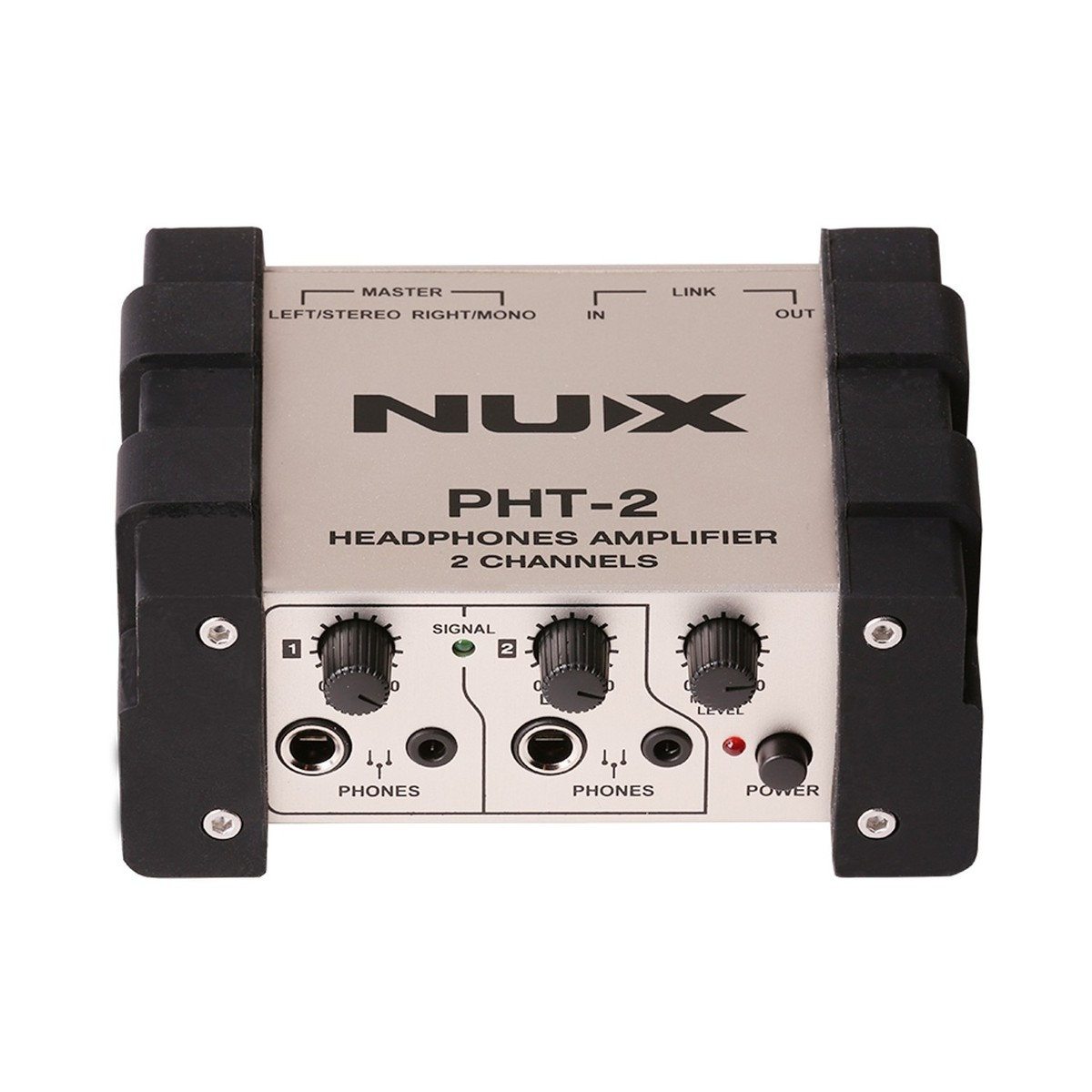 Nux Pht 2 Headphone Amplifier At Gear4music Stereo Volume Control In Electrical Engineering Amp