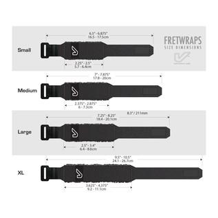 Gruv Gear FretWraps Wood 3-Pack Prints, Medium