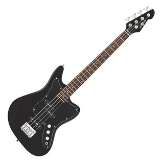 Seattle Short Scale Bass Guitar + Amp Pack, Black