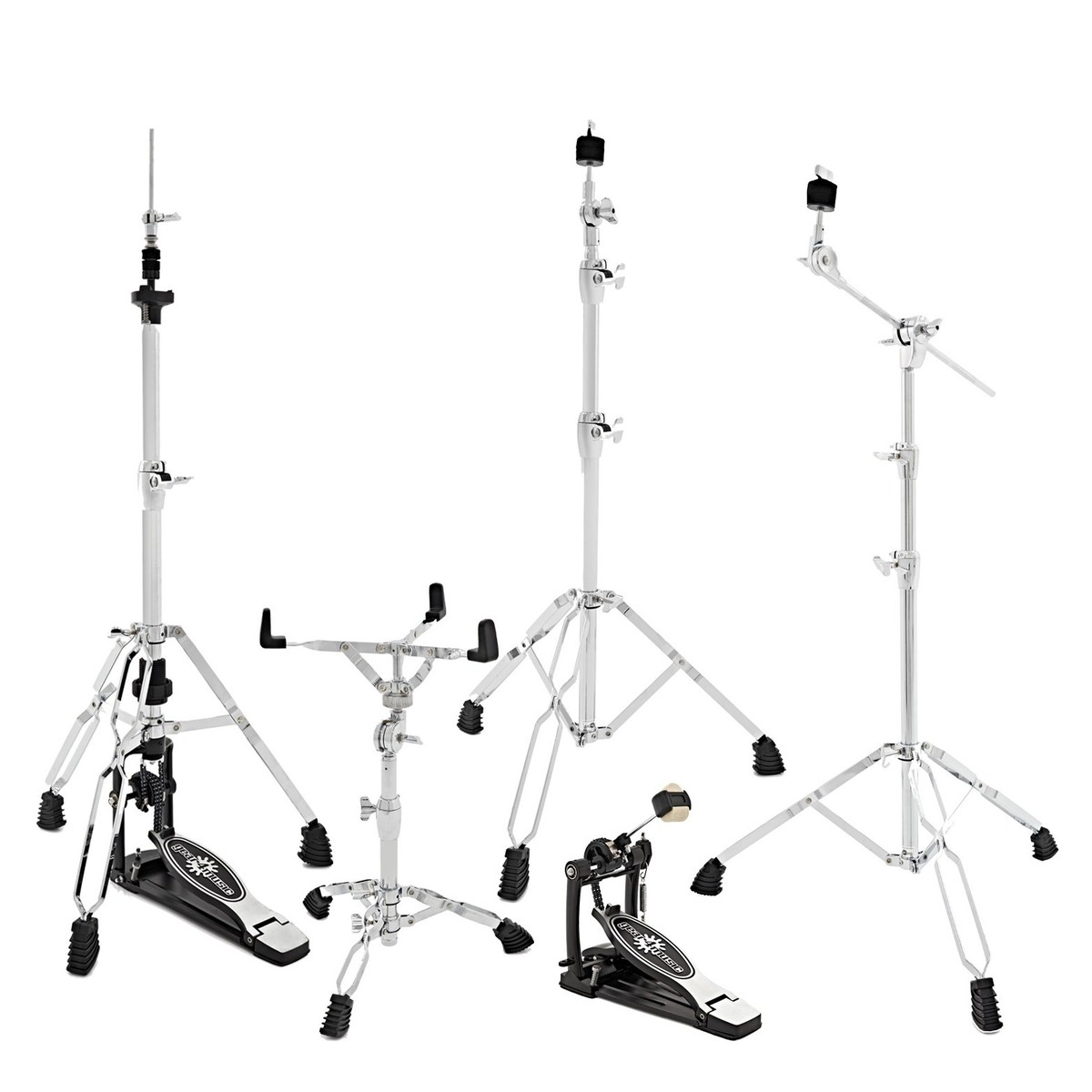 Click to view product details and reviews for Heavy Duty Drum Hardware Pack By Gear4music.