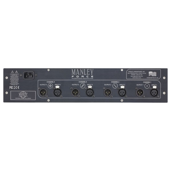 Manley FORCE Microphone Preamplifier