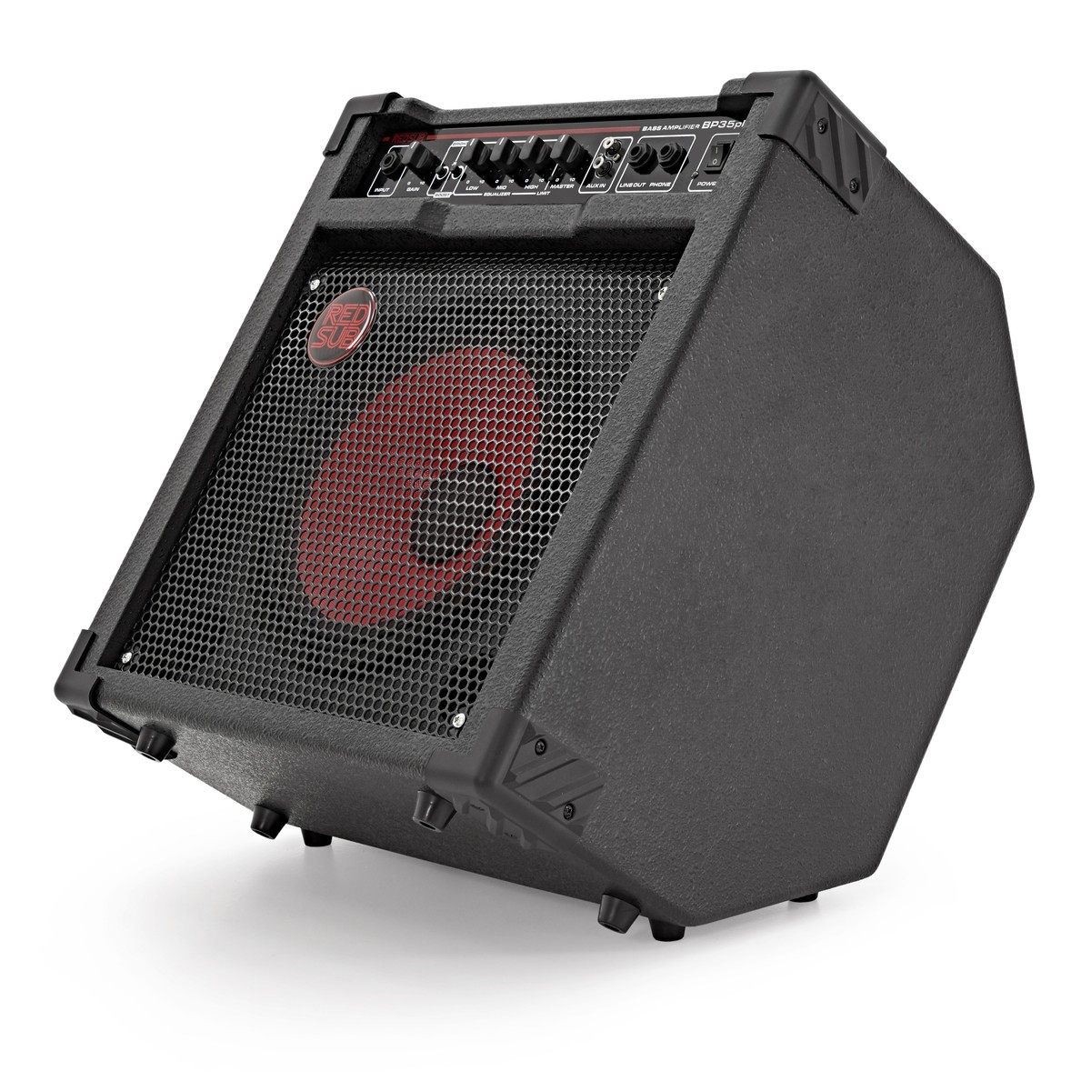 redsub bp35plus 35w bass guitar amplifier at gear4music. Black Bedroom Furniture Sets. Home Design Ideas