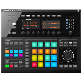Native Instruments Maschine Studio Production Workstation, Black