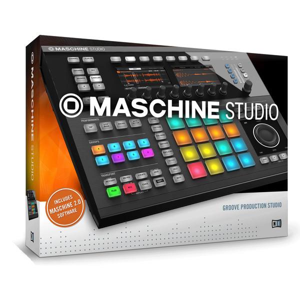 Native Instruments Maschine Studio Production Workstation, Black