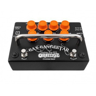 Orange BAX Bangeetar Guitar Pre-EQ Pedal, Black