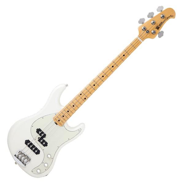 Music Man Caprice Bass Passive 4 String, Ivory White