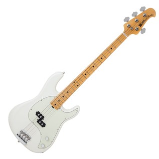 Music Man Cutlass Bass Passive 4 String, Ivory White