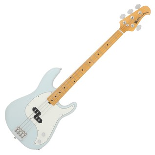Music Man Cutlass Bass Passive 4 String, Diamond Blue