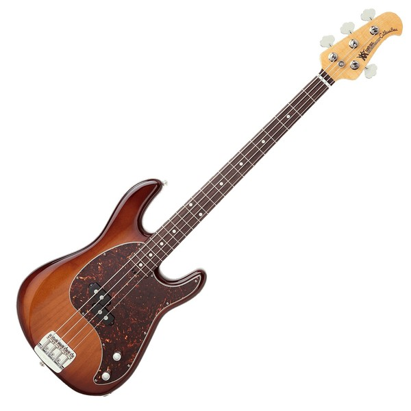 Music Man Cutlass Bass Passive 4 String, Heritage Tobacco