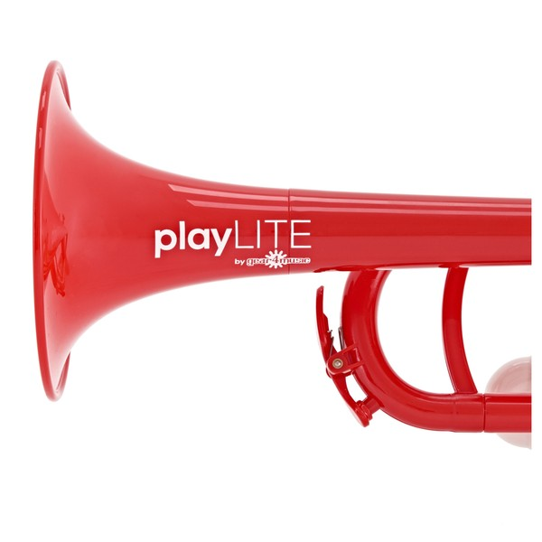 playLITE Hybrid Trumpet by Gear4music, Red