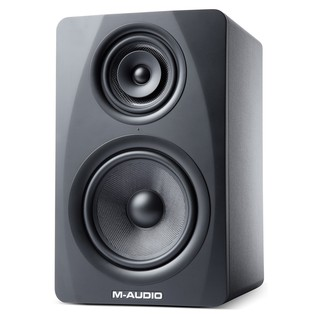 M-Audio M3-8 Studio Monitors, Black - Angled
