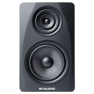 M-Audio M3-8 Studio Monitors, Black - Front