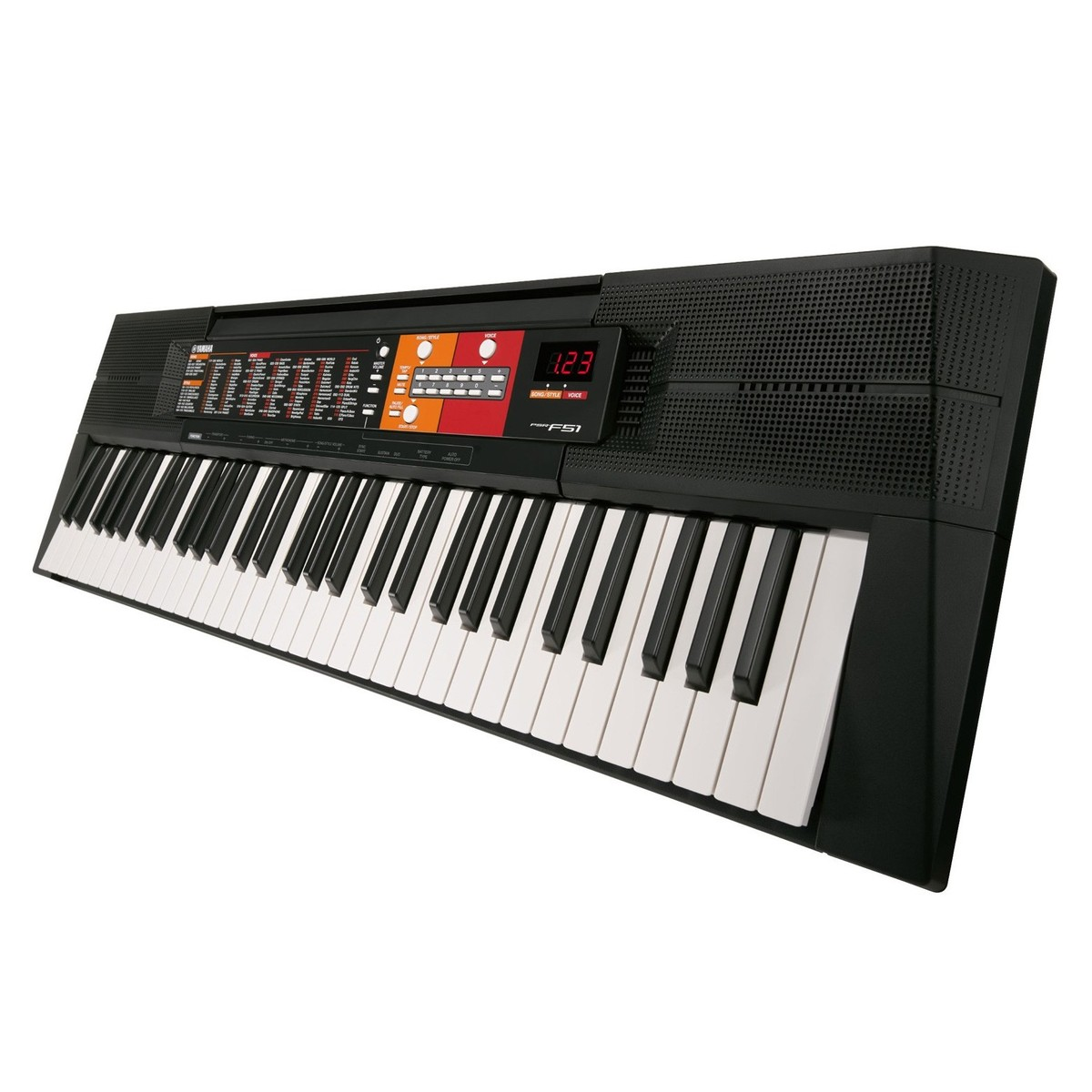 yamaha psr f51 portable keyboard at. Black Bedroom Furniture Sets. Home Design Ideas
