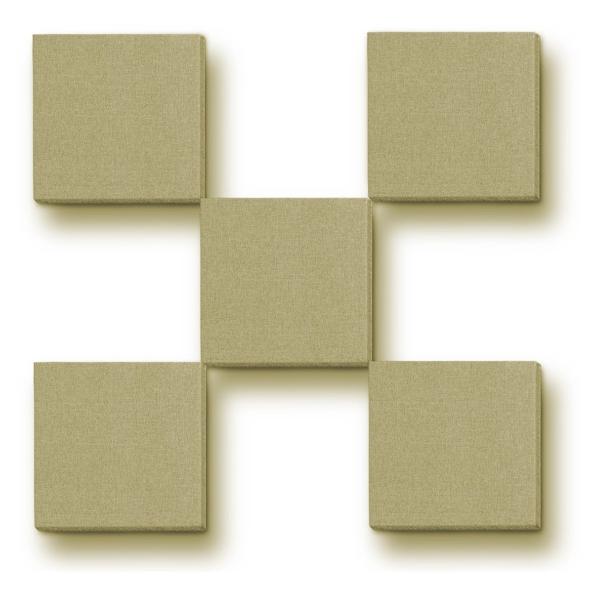 Primacoustic 1 Scatter Block With Beveled Edge In Beige Pack Of 24