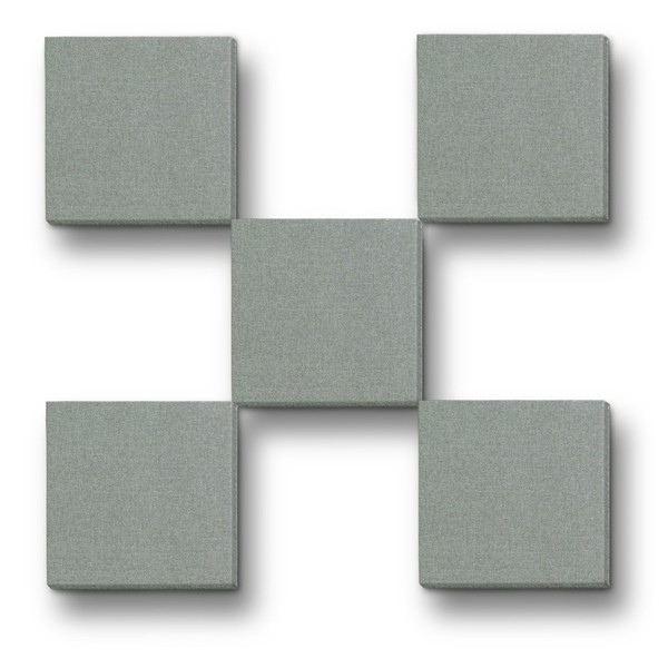 "Primacoustic Broadway 12"" x 12"" Scatter Blocks - 1"" Grey - Panels"
