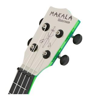 Makala Waterman MK-SWT/GN Soprano Ukulele, Clear Green