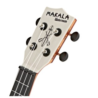 Makala Waterman MK-SWT/OR Soprano Ukulele, Clear Orange