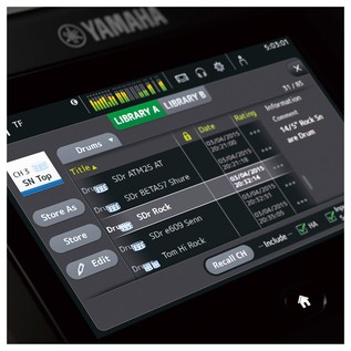 Yamaha TouchFlow TF1 16 Channel Digital Mixer