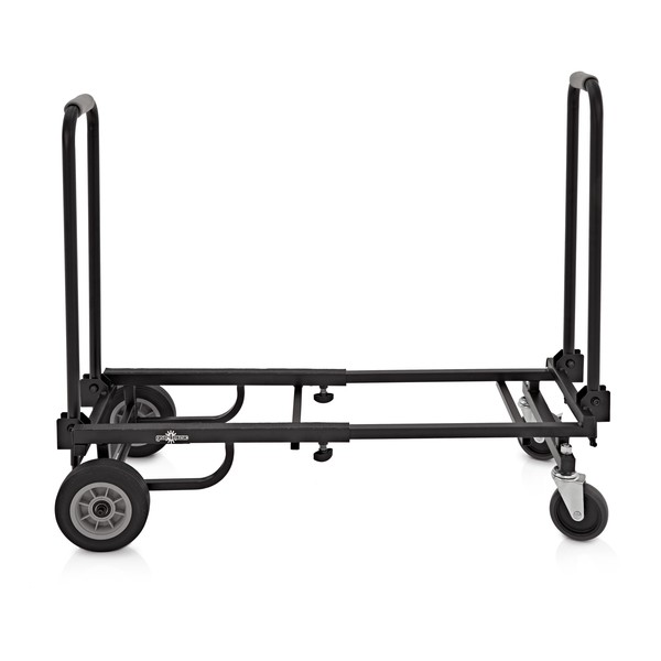 Deluxe Adjustable Equipment Trolley by Gear4music