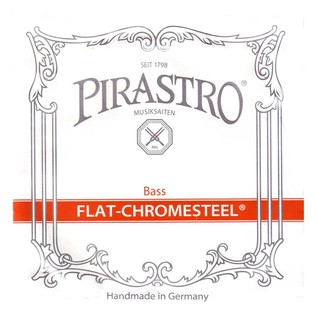 Pirastro Flat Chromesteel Bass